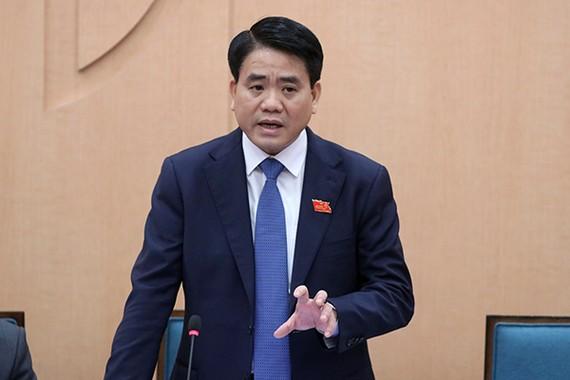 Ông Nguyễn Đức Chung, Chủ tịch UBND thành phố Hà Nội