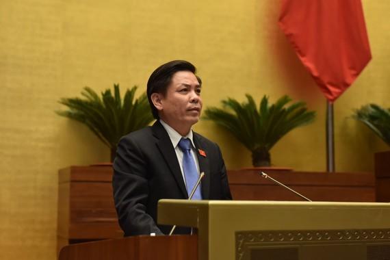 Bộ trưởng Bộ Giao thông Vận tải Nguyễn Văn Thể. Ảnh: QUANG PHÚC