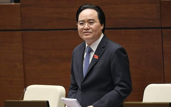 Bộ trưởng Bộ GD-ĐT Phùng Xuân Nhạ