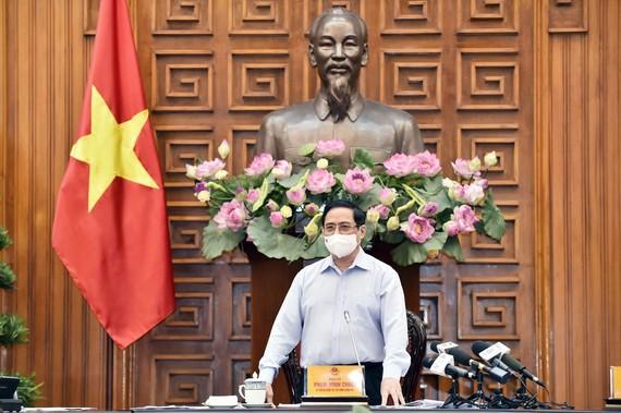 Theo Thủ tướng Phạm Minh Chính, về cơ bản chúng ta đang kiểm soát được tình hình dịch bệnh. Ảnh: VIẾT CHUNG