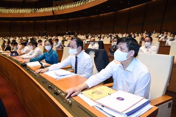 Họp Quốc hội ngày 28-7. ẢNH: QUANG PHÚC