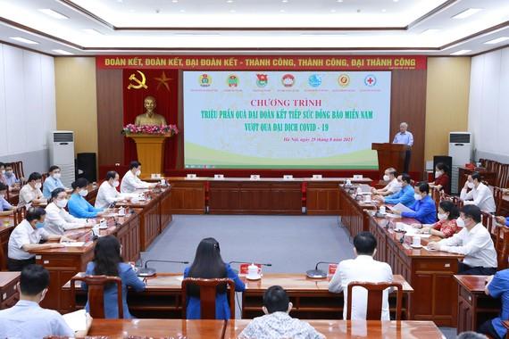Quang cảnh Hội nghị MTTQ chiều 25-8