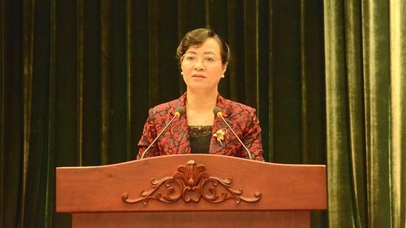 """Chủ tịch HĐND TPHCM Nguyễn Thị Quyết Tâm khẳng định: """"TPHCM không tăng thuế, phí tràn lan"""""""