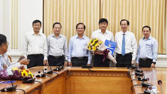 Ông Trần Quang Minh phụ trách SAWACO