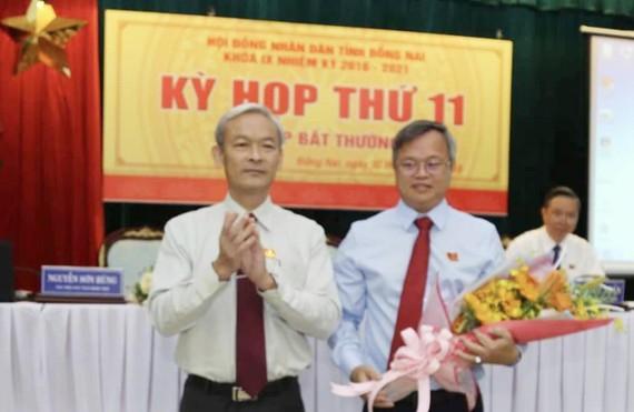 Ông Cao Tiến Dũng được bầu giữ chức Chủ tịch UBND tỉnh Đồng Nai