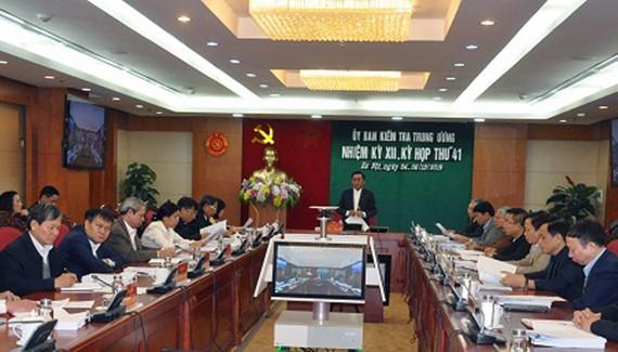Đề nghị Bộ Chính trị xem xét, kỷ luật nguyên Bí thư Tỉnh ủy Hà Giang Triệu Tài Vinh