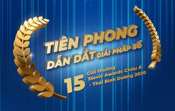 VNPT đoạt 15 giải thưởng tại Stevie Awards châu Á - Thái Bình Dương 2020