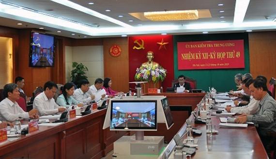 Đề nghị Bộ Chính trị xem xét, thi hành kỷ luật đối với đồng chí Nguyễn Văn Bình