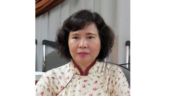Bị can Hồ Thị Kim Thoa, nguyên Thứ trưởng Bộ Công thương. Ảnh Bộ Công an