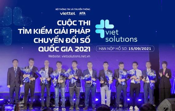 Viet Solutions 2021 gia hạn nộp hồ sơ dự thi đến hết ngày 15-9