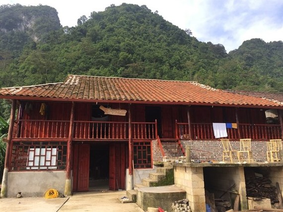 Homestay of Hoamg Ngoc Kim in Phia Thap village, Cao Bang province (Photo: VNA)