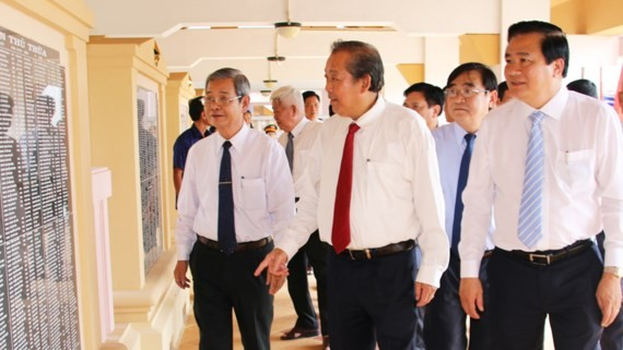 Revolutionary war historical site in Long An Province opens to public