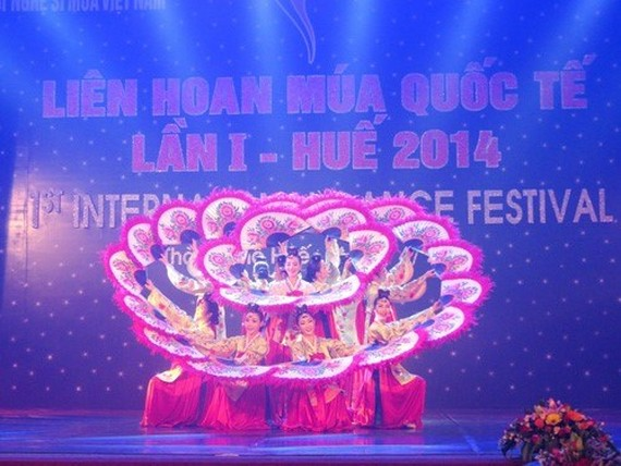 A dance at the first International Dance Festival in 2014 (Source: cucnghethuatbieudien.gov.vn)