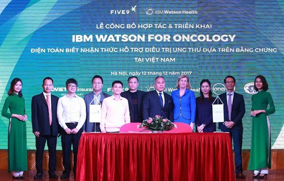 IBM Watson to fight cancer in Phu Tho province's hospital