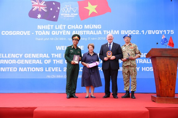 Photo: Courtesy of Australian Embassy