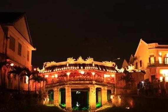 The Chua Bridge in Hoi An (Photo: VNA)