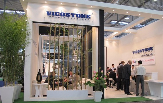 Vicostone JSC has impressive growth in revenue and benefit in recent years. (Photo: kinhtevadubao.vn)