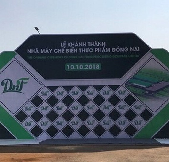 $7 million food processing plant opened in Dong Nai province