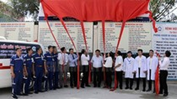 HCMC has one more satellite emergency clinic