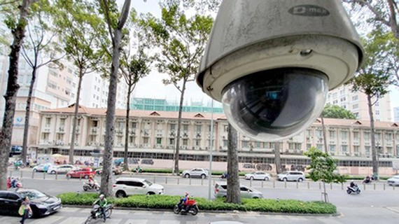 When IOC is in operation, public monitoring cameras will be linked to the system. Photo by T.Ba