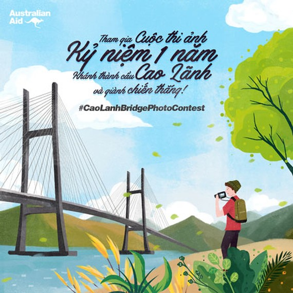 Embassy launches photo competition for first anniversary of Cao Lanh bridge