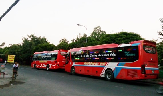 Mien Dong Coach Station becomes first e-bus station in HCMC