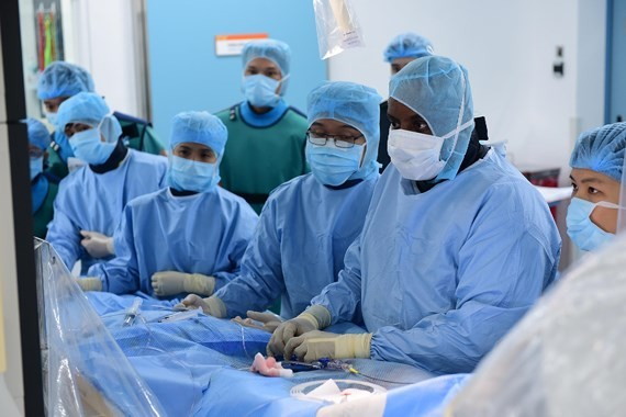 Intervention of brain aneurysm performed successfully at FV hospital