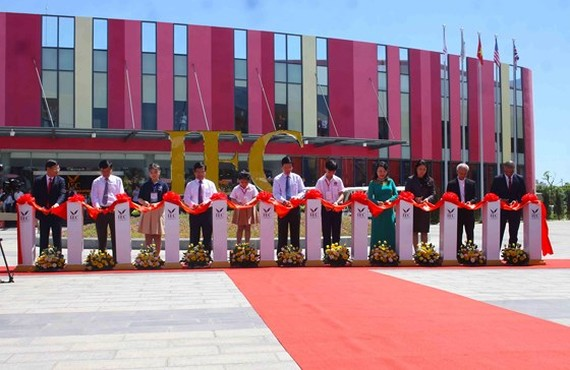 International Education City opened in Quang Ngai