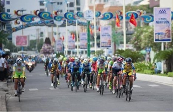 Women cycling tournament for An Giang TV cup starts
