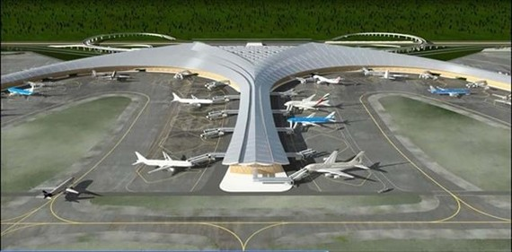 An image of proposed Long Thanh International Airport in the southern province of Dong Nai. (Photo courtesy of ACV)