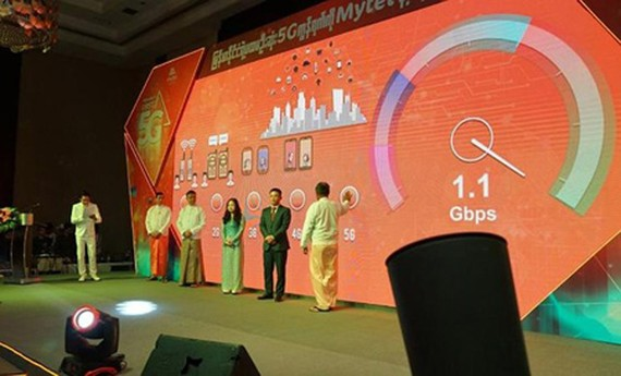 Mytel officially introduced the first 5G network in Myanmar on August 5