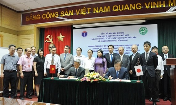 Vietnamese medical students to have chance to study, work in Japan
