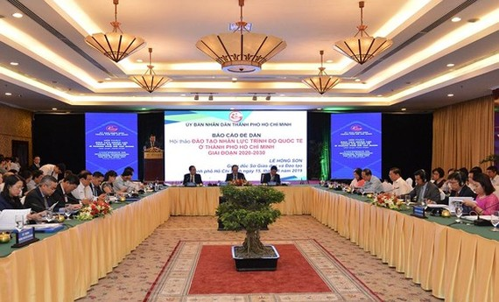 HCMC focuses on improving manpower quality