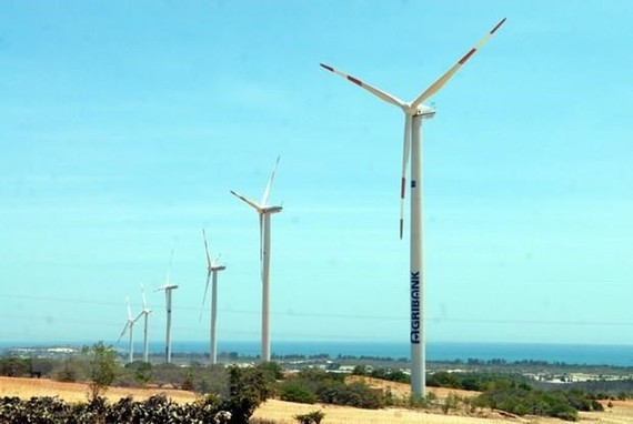 Vientam is investing heavily in wind power projects.(Photo: VNA)