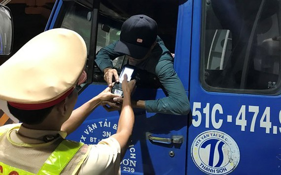 Traffic police cracks down DUI drivers