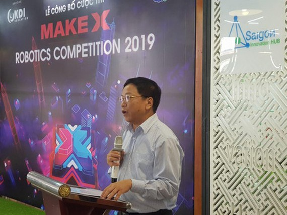 Global robotics contest for young developers launched in Vietnam