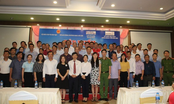 Attendees of the training course (Photo: SGGP)
