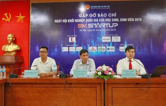 At the press brief (Photo: SGGP)