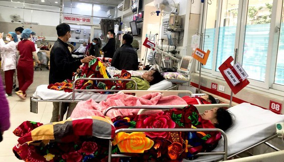 Hospitalization increases when it is cold (Photo: SGGP)