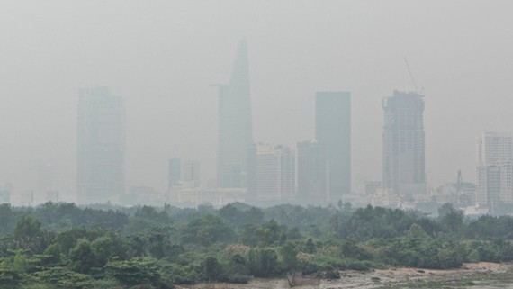 Polluted air lingers in  Ho Chi Minh City