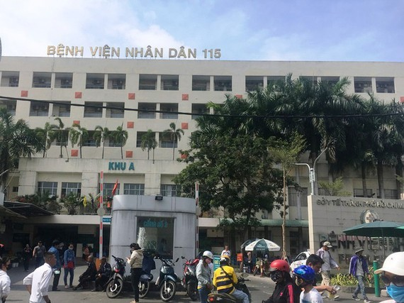 People's 115 Hospital is in the top five hospitals in Ho Chi Minh City (Photo: SGGP)