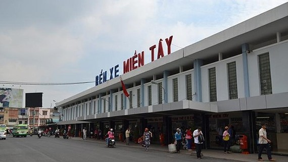 The Mien Tay (Western) Coach Station in Binh Tan District (Photo: SGGP)