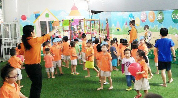 HCMC takes heeds of child care, education