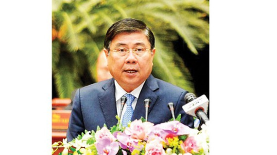 Chairman of the HCMC People's Committee Nguyen Thanh Phong. (Photo: SGGP)