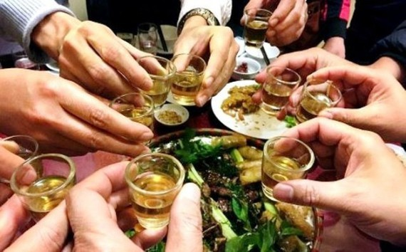 Drinking too much can harm health