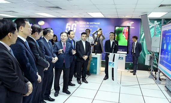 Viettel trials first video call on 5G network
