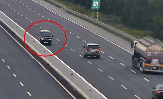 Driver of sedan driving wrong way in one-way expressway receives fine of US$732