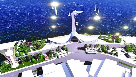 Architect impression of the wharf (Photo: SGGP)