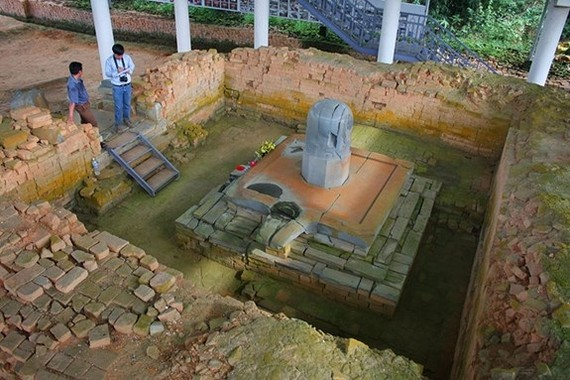 Large-scale excavation conducted at Cat Tien archaeological site