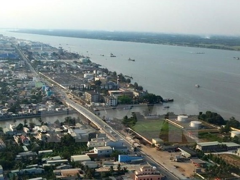 A corner of Can Tho city (Photo: VNA)
